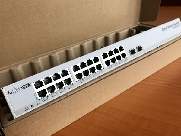 CSS326-24G-2S+RM - Sao Thiên Vương, Phân phối thiết bị mạng MikroTik
